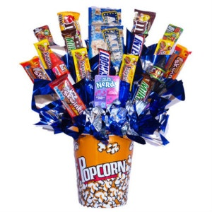 Arreglo de Dulces Candy Pop Corn